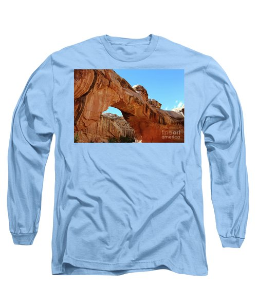 Hickman Bridge Capitol Reef Long Sleeve T-Shirt