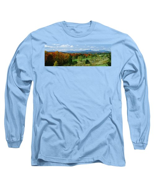 High Angle View Of Trees In The Forest Long Sleeve T-Shirt