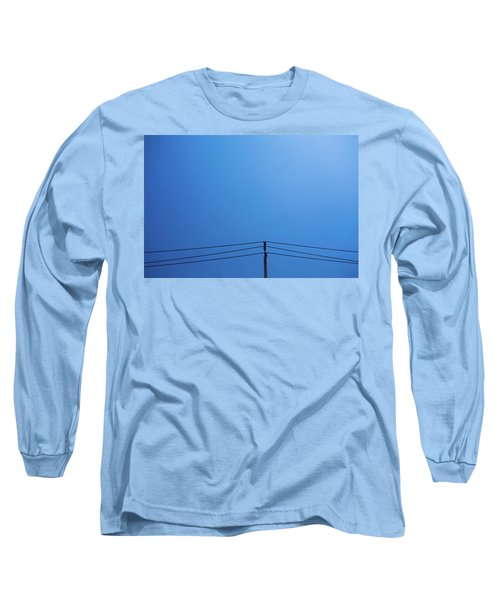 High Voltage Power, Electric Pose Long Sleeve T-Shirt