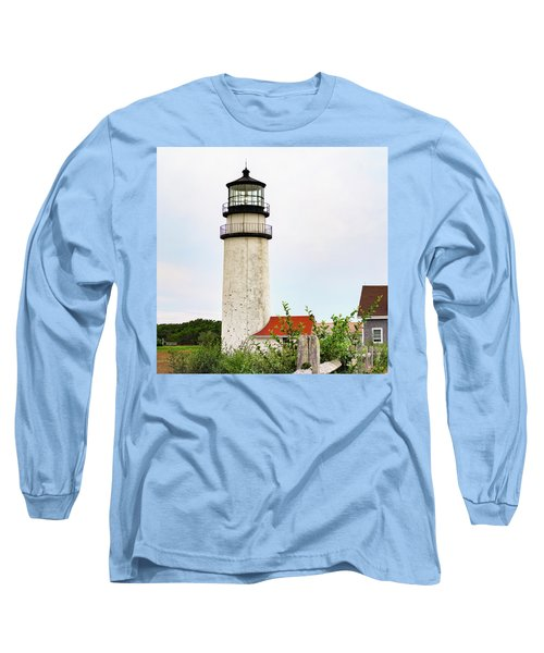 Long Sleeve T-Shirt featuring the photograph Highland Lighthouse II by Marianne Campolongo