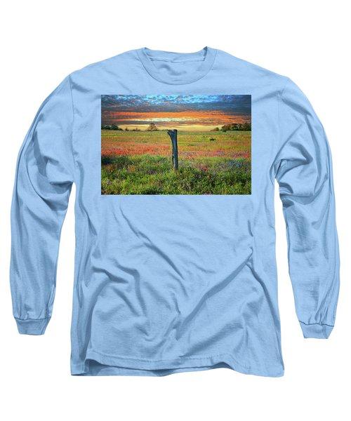 Hill Country Heaven Long Sleeve T-Shirt by Lynn Bauer