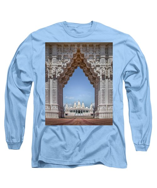 Hindu Architecture Long Sleeve T-Shirt