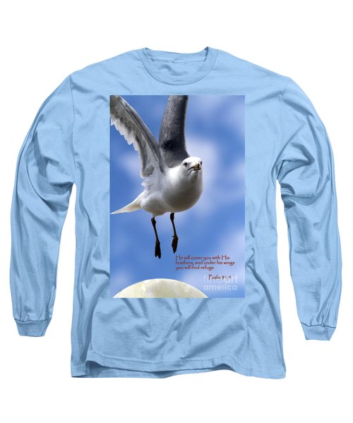 His Feathers Long Sleeve T-Shirt
