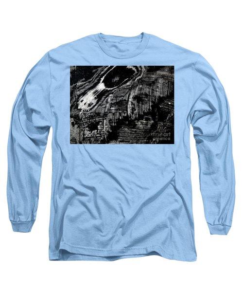 Hog Fish Two Long Sleeve T-Shirt by Expressionistart studio Priscilla Batzell