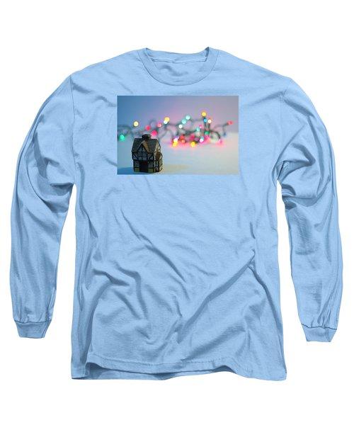 Holiday Lights Long Sleeve T-Shirt by John Rossman