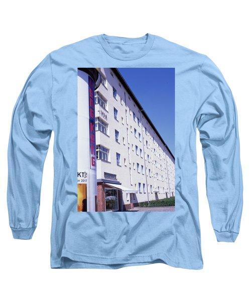 Honk Kong And Building In Berlin Long Sleeve T-Shirt
