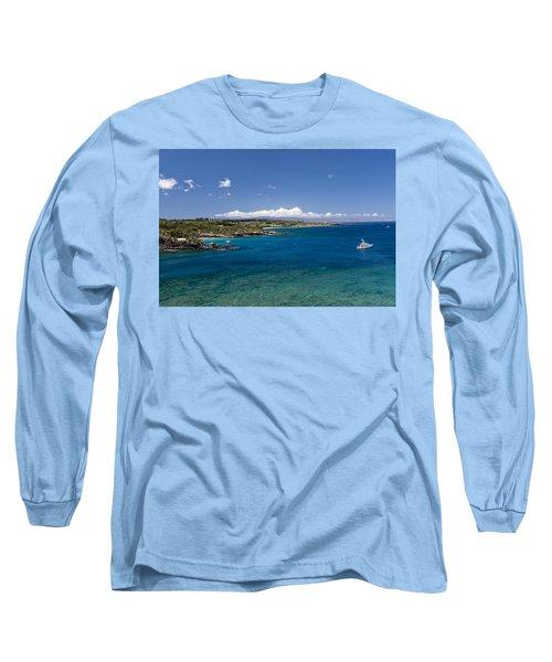 Honolua Bay Long Sleeve T-Shirt by Jim Thompson
