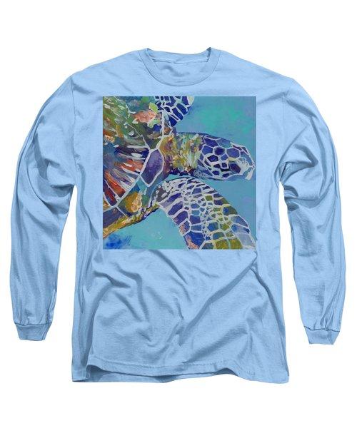 Honu Long Sleeve T-Shirt by Marionette Taboniar
