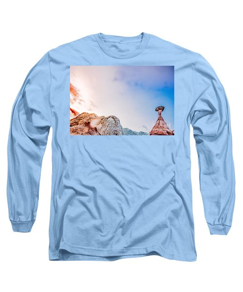 Hoo Doos At Sunset Long Sleeve T-Shirt