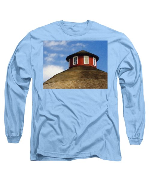 Hoosier Cupola Long Sleeve T-Shirt