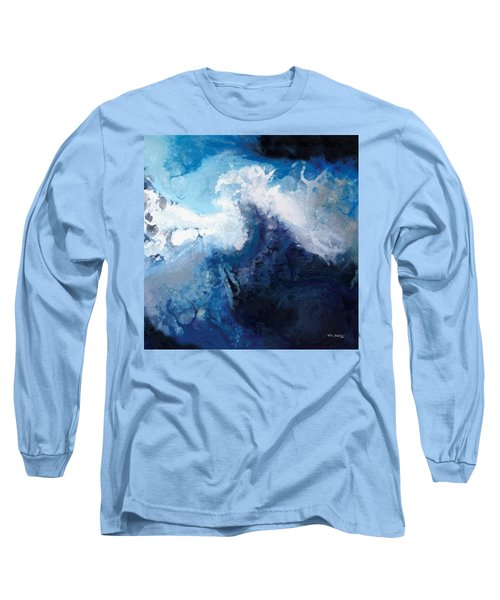 Hope In The Lord. Psalm 31 24 Long Sleeve T-Shirt by Mark Lawrence