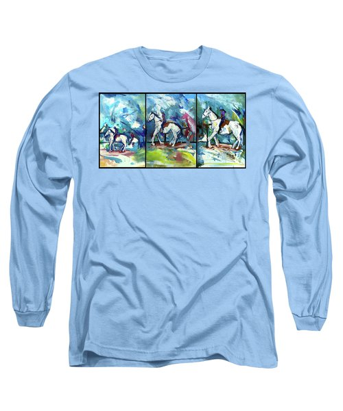 Horse Three Long Sleeve T-Shirt