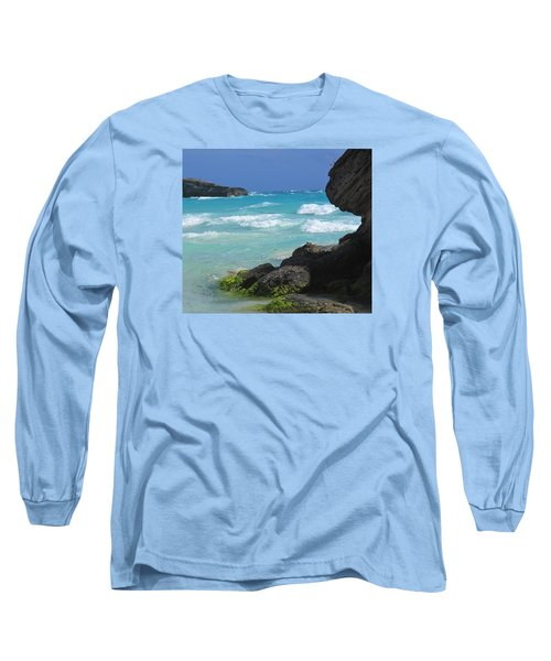 Horseshoe Bay Rocks Long Sleeve T-Shirt by Ian  MacDonald