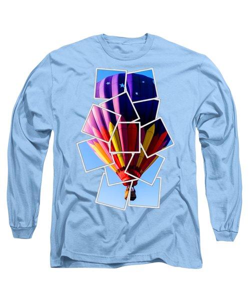 Hot Air Balloon Tee Long Sleeve T-Shirt