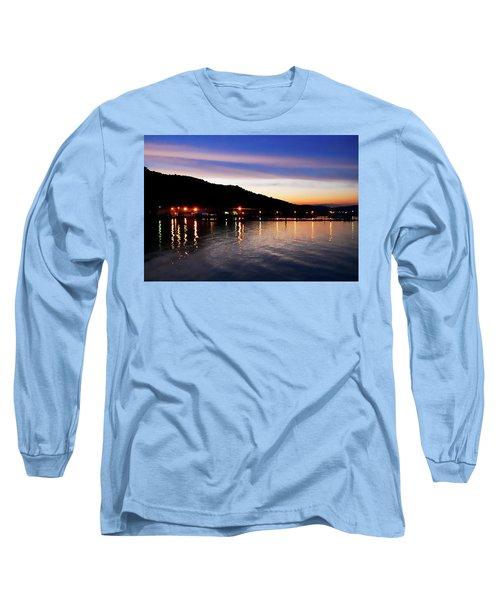 Hot Summers Night Long Sleeve T-Shirt