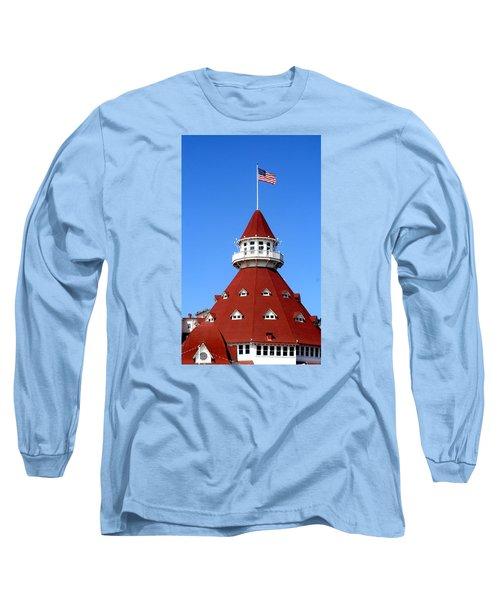 Hotel Del Coronado Long Sleeve T-Shirt