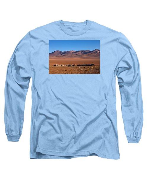 Hotel Tayka Del Desierto In Siloli Desert Long Sleeve T-Shirt