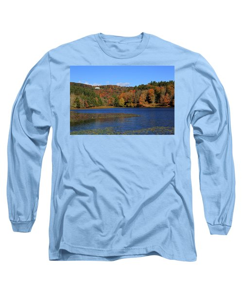 House In The Mountains Long Sleeve T-Shirt
