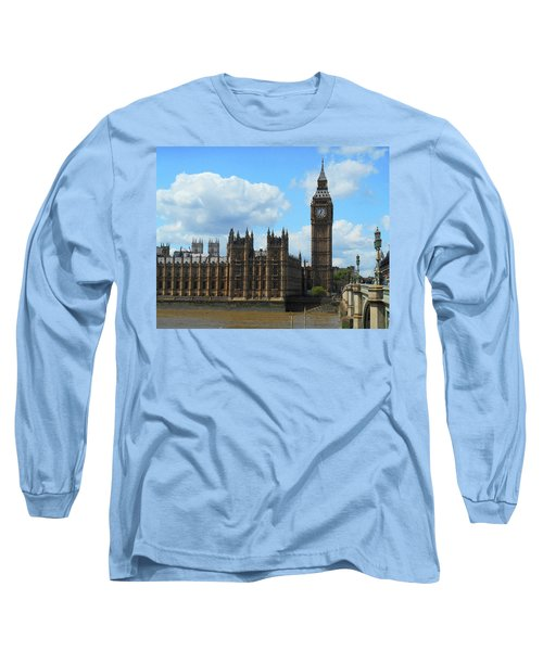 House Of Lords Big Ben Tower London Long Sleeve T-Shirt
