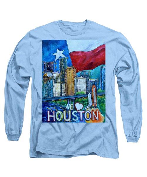Houston Montage Long Sleeve T-Shirt