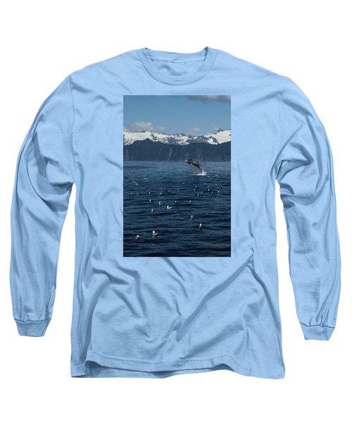 Humpback Whale Breach 3.1. Mp Long Sleeve T-Shirt