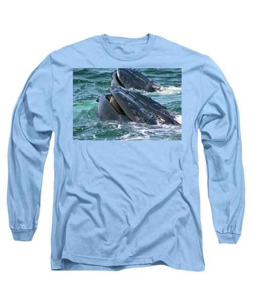 Humpback Whale Mouth Long Sleeve T-Shirt