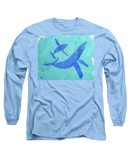 Humpback Whales Long Sleeve T-Shirt