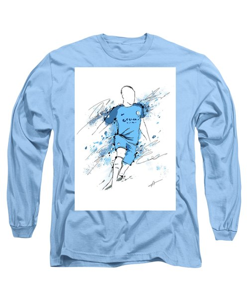 I Am Sky Blue #2 Long Sleeve T-Shirt