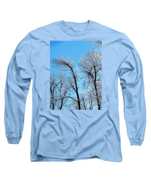 Iced Trees Long Sleeve T-Shirt by Craig Walters