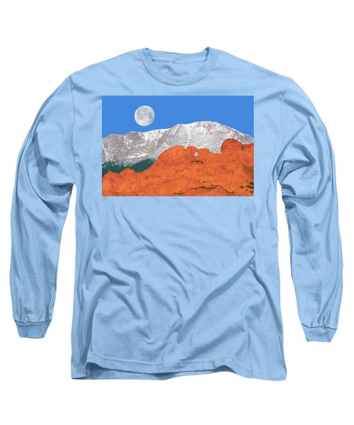 If You're Lucky Enough To Live In The Mountains, You're Lucky Enough.  Long Sleeve T-Shirt