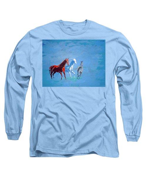 Il Futuro Ci Viene Incontro Long Sleeve T-Shirt