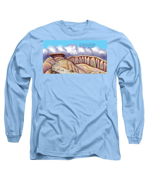 Illustrated Haiku 2 - Age 17 Long Sleeve T-Shirt