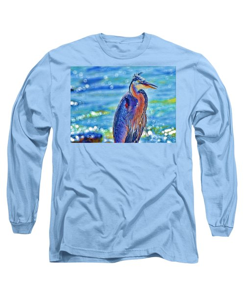 I'm A Colorful Guy Long Sleeve T-Shirt by Pamela Blizzard
