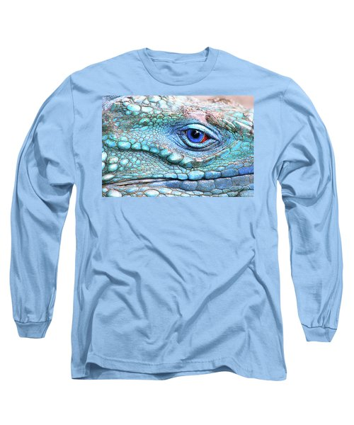 In His Eye Long Sleeve T-Shirt by Iryna Goodall