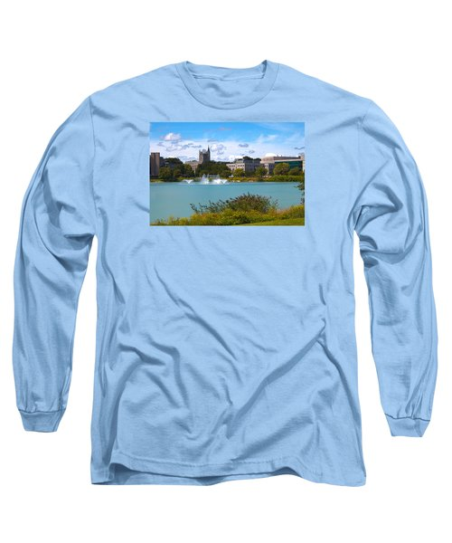 Long Sleeve T-Shirt featuring the photograph In The Afternoon by Milena Ilieva