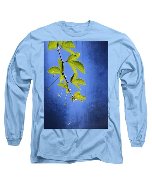Long Sleeve T-Shirt featuring the photograph In The Blue by Carolyn Marshall