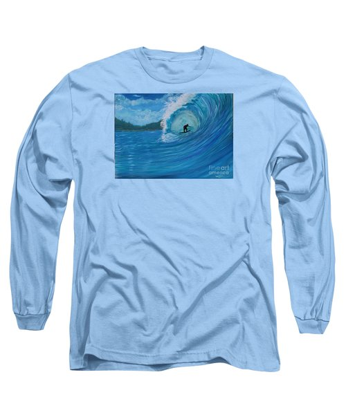 Long Sleeve T-Shirt featuring the painting In The Green Room by Myrna Walsh