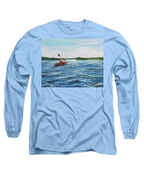 In The Kayak Long Sleeve T-Shirt
