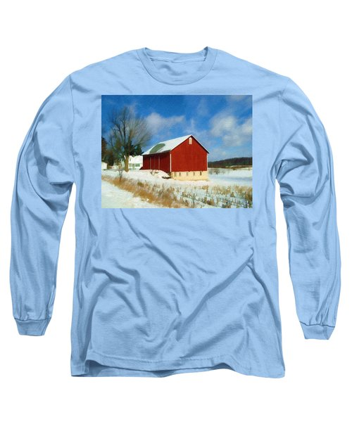 In The Throes Of Winter Long Sleeve T-Shirt
