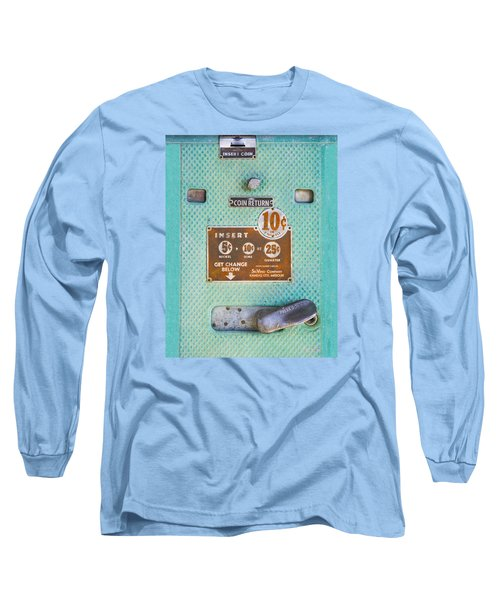 Long Sleeve T-Shirt featuring the photograph Insert Coin by Christina Lihani