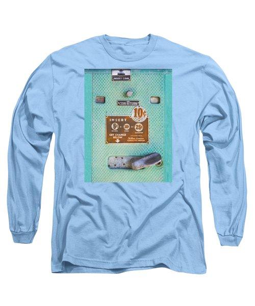 Insert Coin Long Sleeve T-Shirt by Christina Lihani