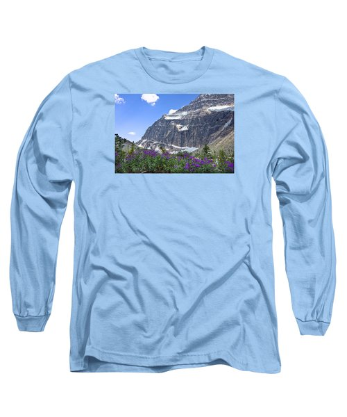 Interpretive Apps In The Canadian Rockies Long Sleeve T-Shirt