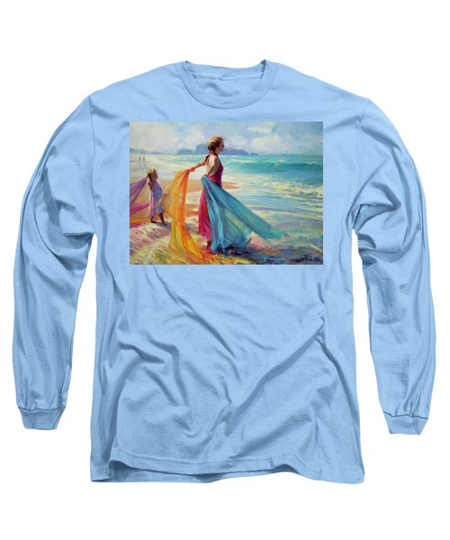 Into The Surf Long Sleeve T-Shirt