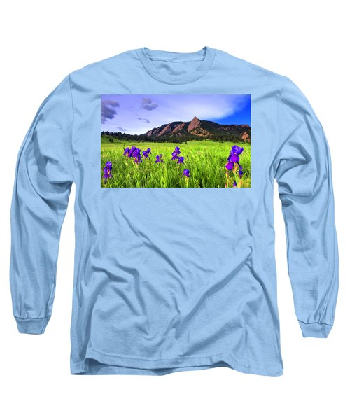 Iris And Flatirons Long Sleeve T-Shirt