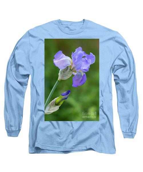Iris Blue Long Sleeve T-Shirt