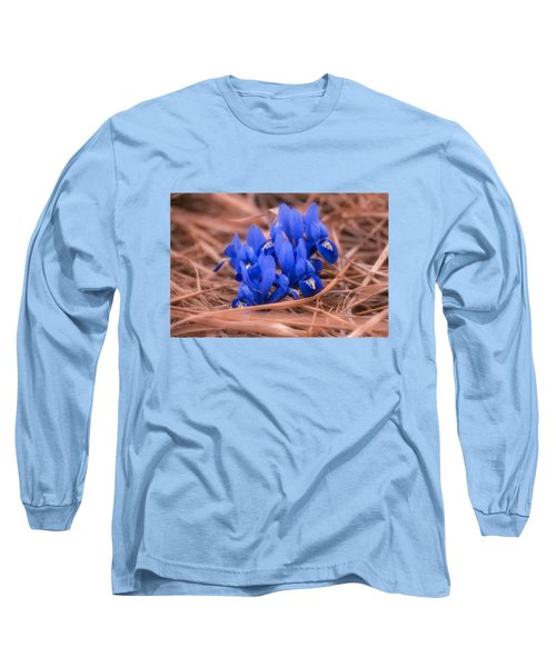 Irises Long Sleeve T-Shirt by Konstantin Sevostyanov