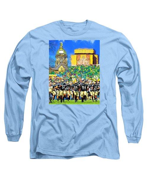 Irish Run To Victory Long Sleeve T-Shirt