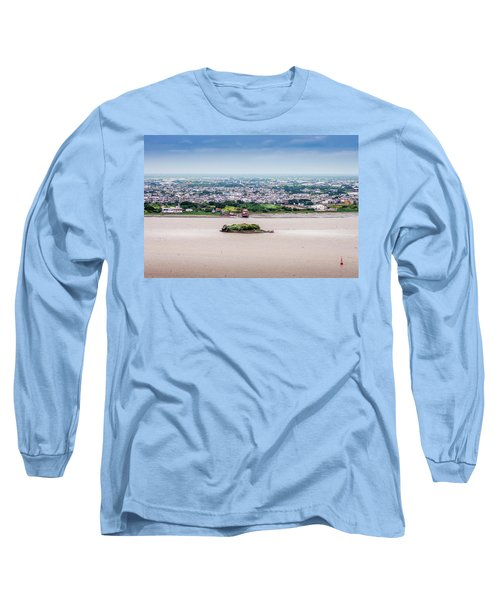 Island In The River Long Sleeve T-Shirt