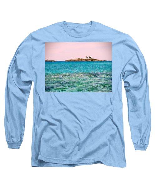 Island Tree Couple Long Sleeve T-Shirt