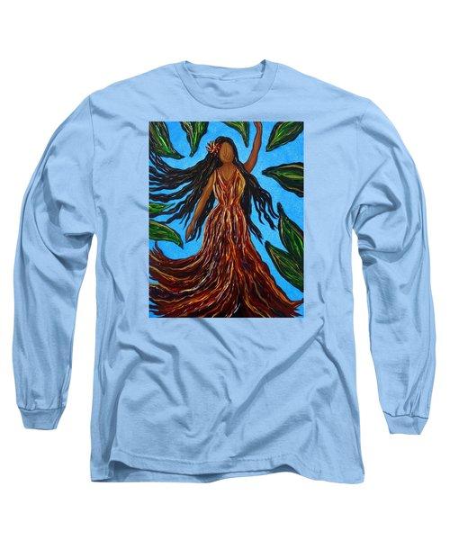 Island Woman Long Sleeve T-Shirt
